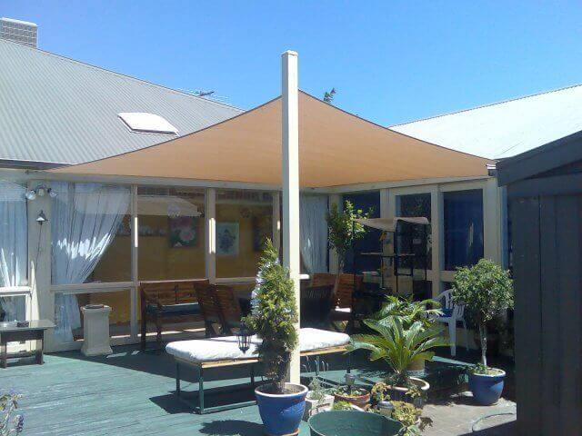 voile d'ombrage rectangulaire - protection uv - shade sail
