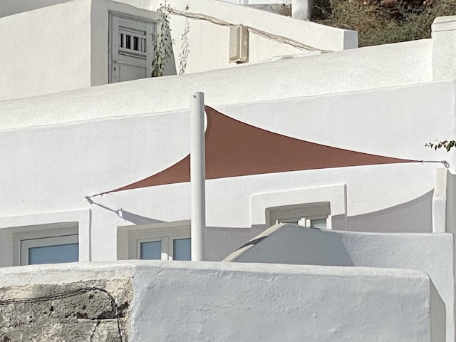 protection solaire - toile solaire - shade sail