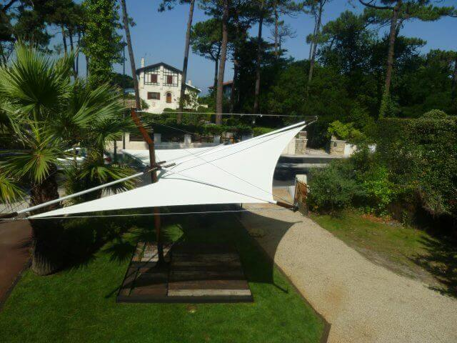shade sail - voile d'ombrage - protection uv